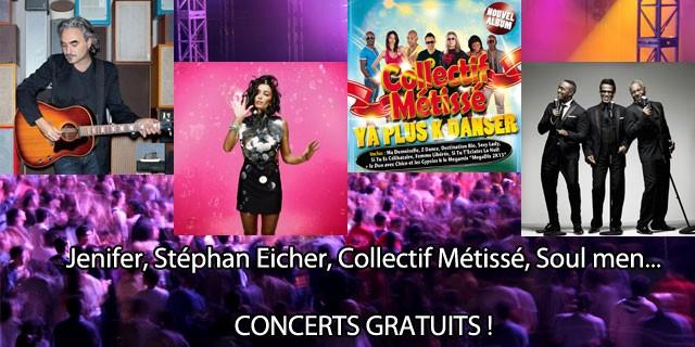 Concerts gratuits à Cavalaire-sur-Mer