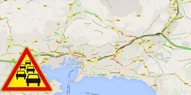 Accident à Toulon