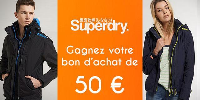 Superdry Fréjus concours