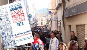 Braderie de Saint-Tropez 2014