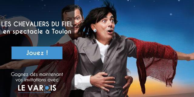 Les Chevaliers du Fiel à Toulon - Concours