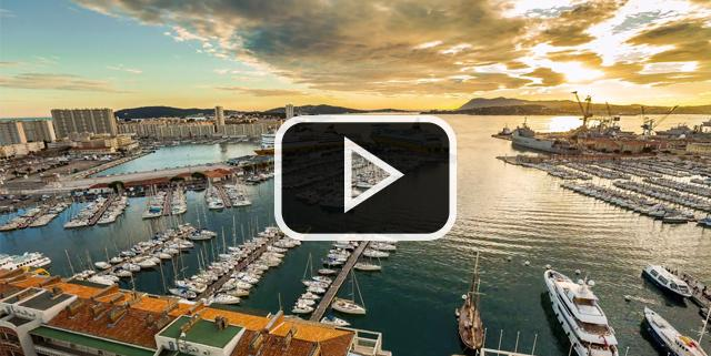 Vidéo timelapse Toulon
