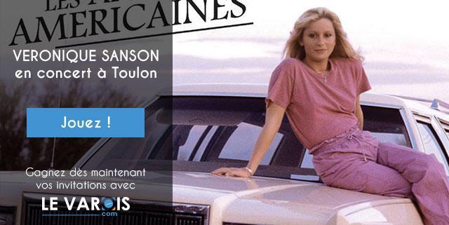 Véronique-Sanson jeu concours Toulon