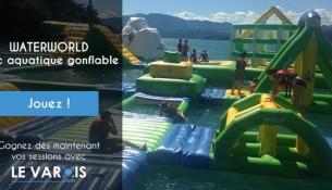 WaterWorld Parc aquatique gonflable Saint-Raphaäel