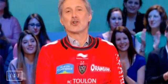 Antoine de Caunes RCT Canal+ Grand Journal