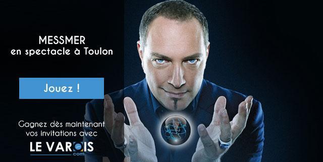 Messmer en spectacle à Toulon - Concours