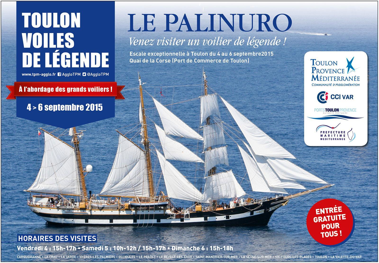 Paliurno visites gratuites à Toulon - TPM
