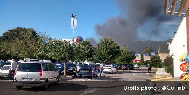 Le magasin darty actuellement en feu ollioules - Darty avignon nord ...