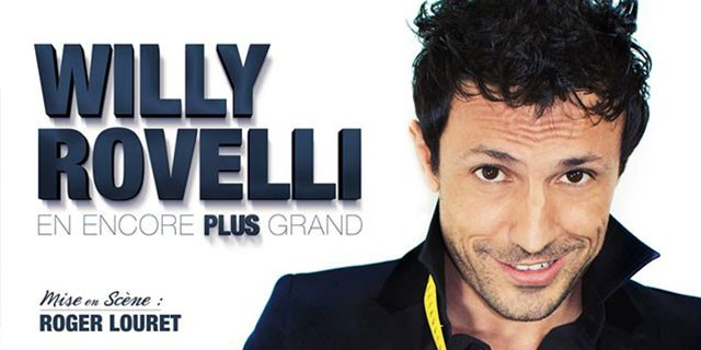 Willy Rovelli en spectacle à Toulon