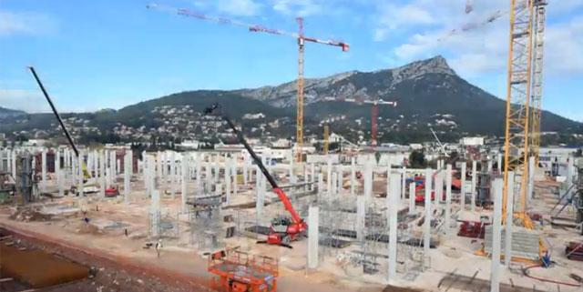 L 39 avanc e du chantier du centre commercial l 39 avenue 83 se d voile en vid o - Nouveau centre commercial amiens nord ...