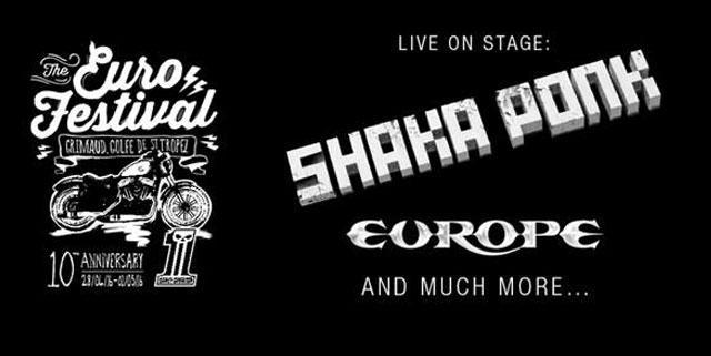 EuroFestival Harley Davidson 2016 Shaka Ponk + Europe
