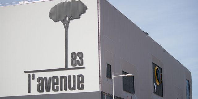 L'Avenue 83 ouverture