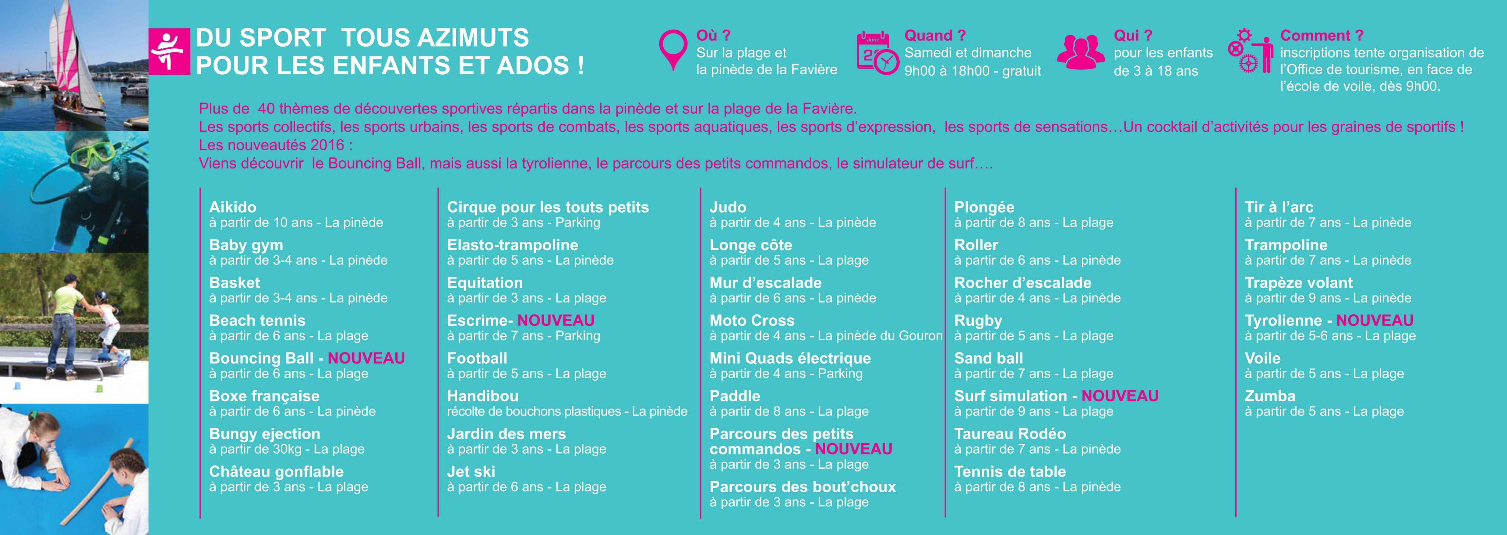 Programme Bormes-les-Mimosas