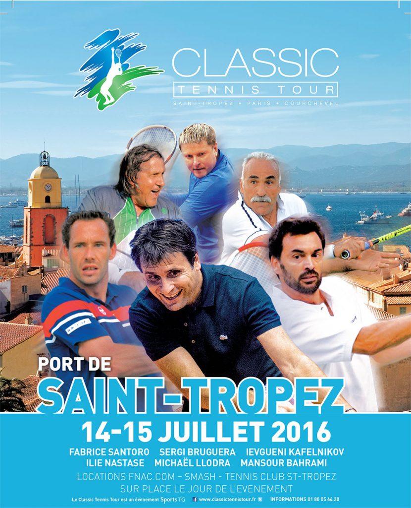Classic Tennis Tour 2016 Saint-Tropez