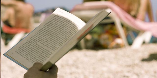 Livres à la plage
