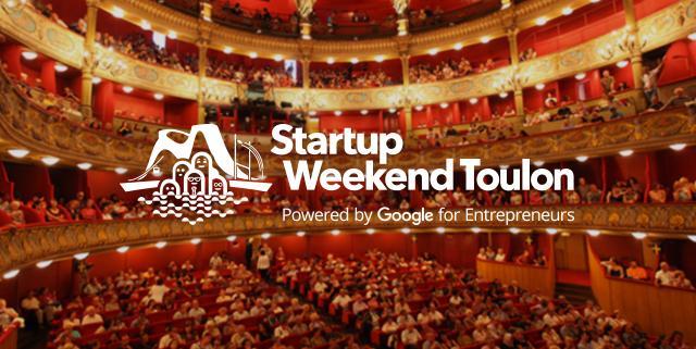 Startup Weekend Toulon 2016 Opéra
