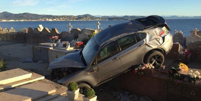 Cimetière marin de Saint-Tropez accident