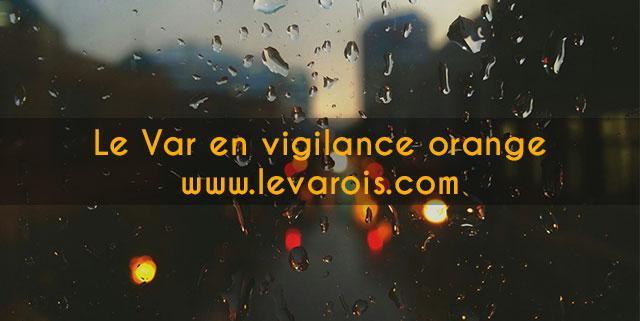 Vigilance Orange VAR météo