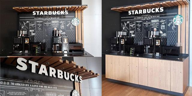 arr tez tout starbucks d barque au path la valette l 39 avenue 83 toulon. Black Bedroom Furniture Sets. Home Design Ideas
