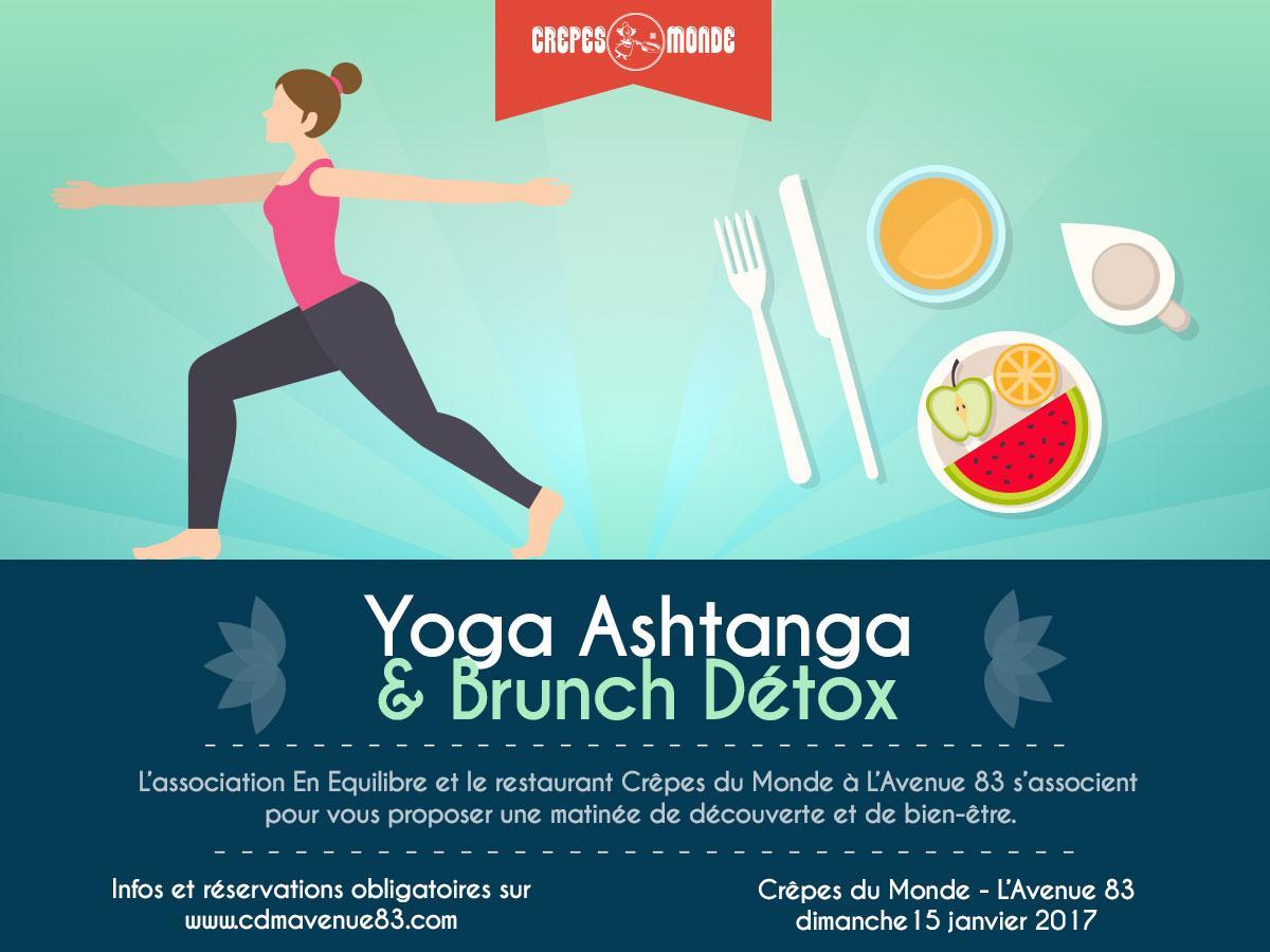 Yoga Ashtanga Crêpes du Monde L'Avenue 83