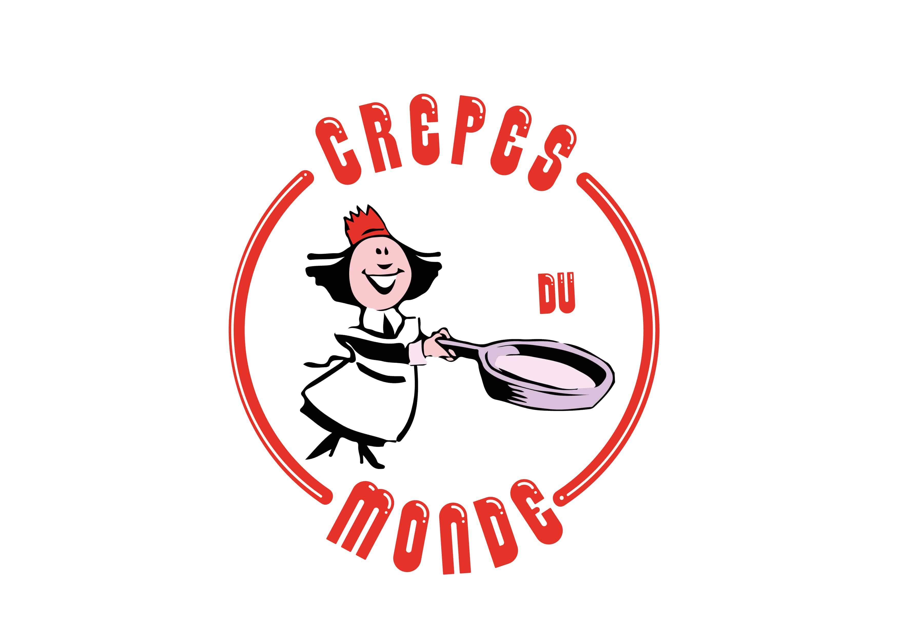 Logo Crêpes du Monde