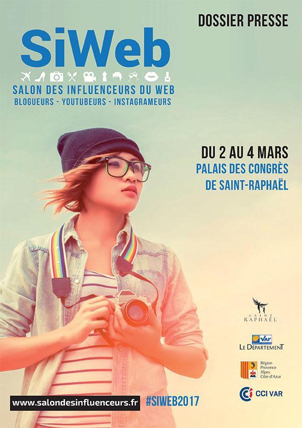 SiWeb, Salon des Influenceurs du Web Saint-Raphaël