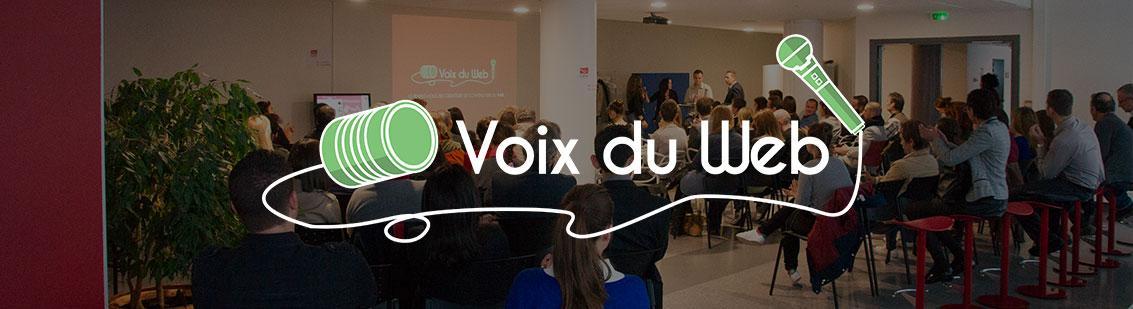 Logo Voix du Web Toulon TVT