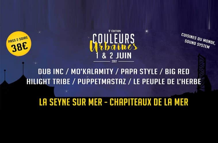 Festival Couleurs Urbaines 2017 La Seyne-sur-Mer