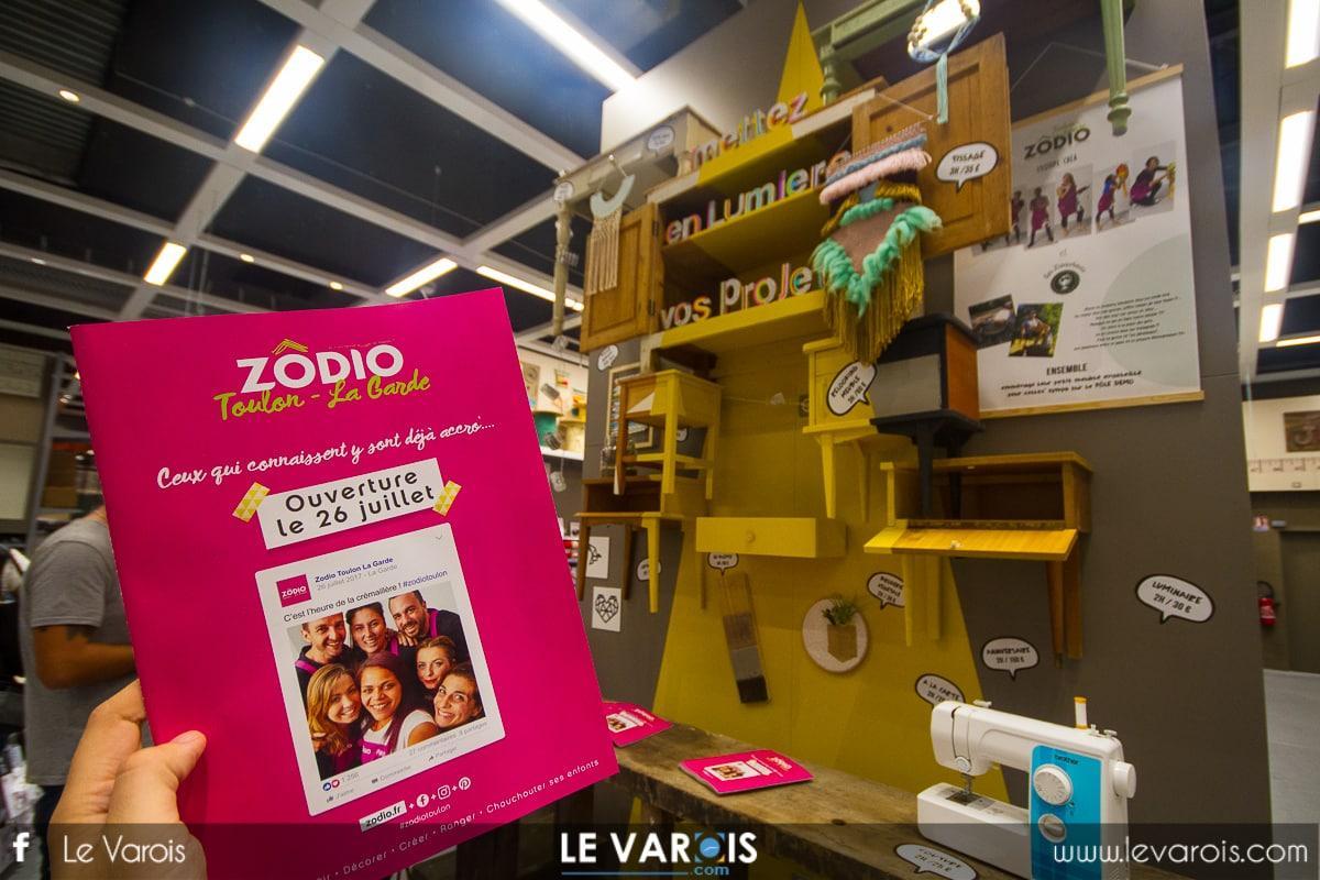 Zodio Toulon La Garde ouverture