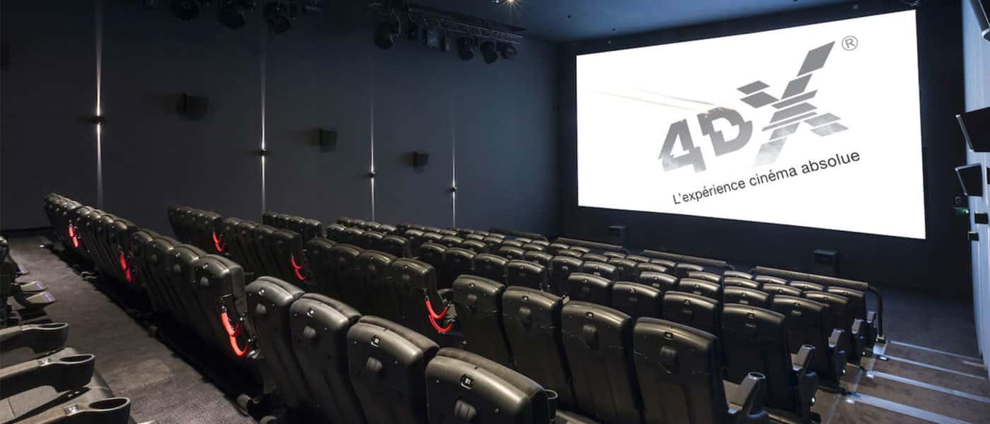 4DX cinéma Pathé l'Avenue83