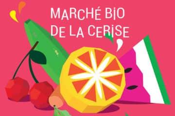 Marché bio Cerise La Farlède