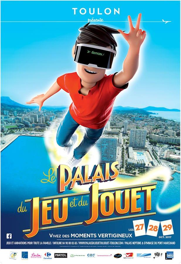 Palais du Jeu et du Jouet 2017 Toulon