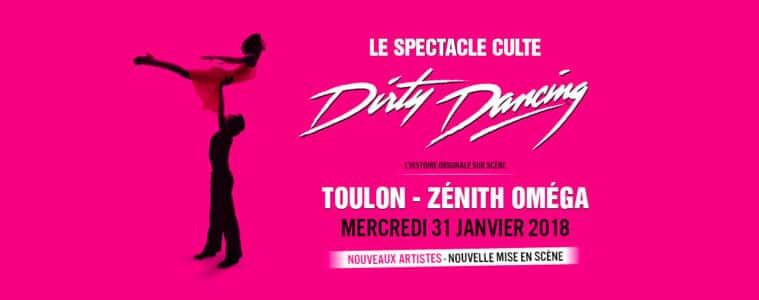 Spectacle Dirty Dancing Toulon