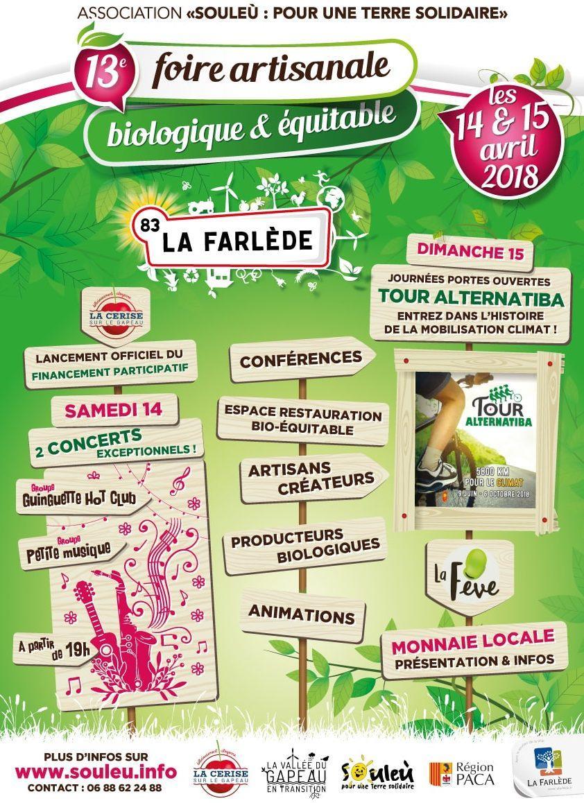 Foire bio La Farlède