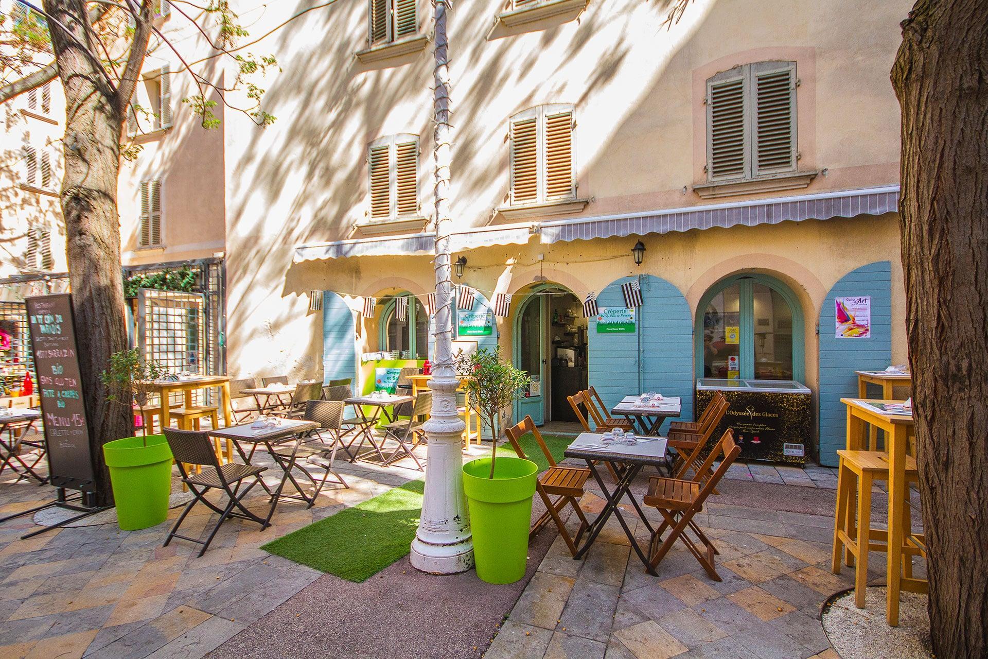 Ty Coin de Paradis crêperie bio Toulon