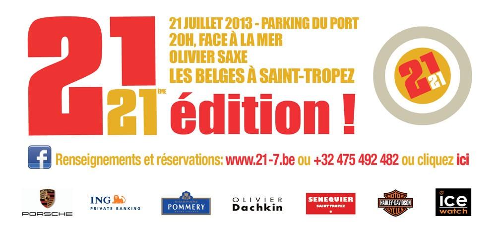 Fête des Belges à Saint-Tropez