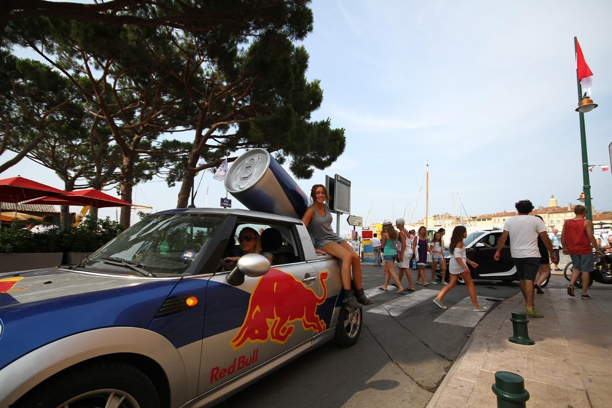 Redbull à Saint-Tropez