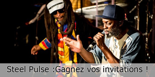 Steel Pulse invitations