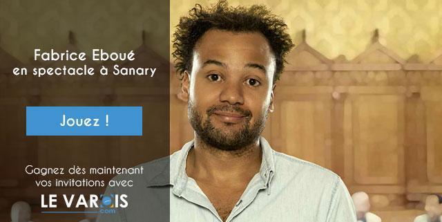 Fabrice Eboué Sanary concours