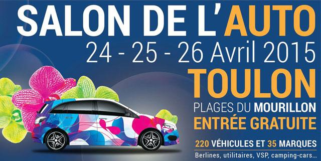 Tout roule ce weekend au salon de l 39 auto de toulon for Salon a paris ce weekend