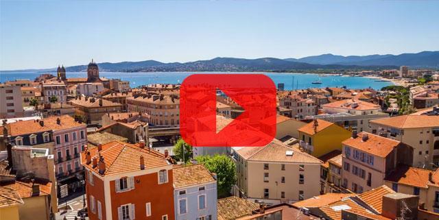 Estérel Côte d'Azur timelapse vidéo
