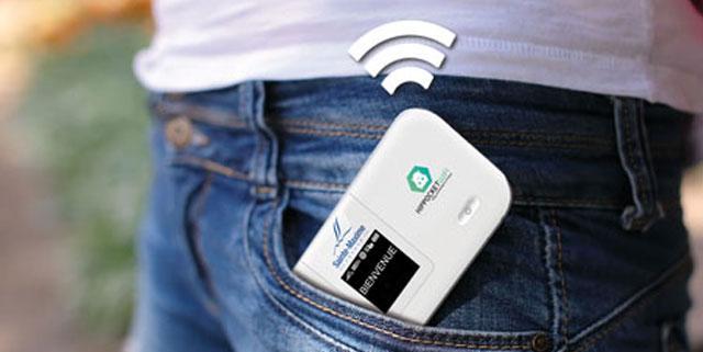 L 39 office de tourisme de sainte maxime lance sa borne wifi de poche - Office tourisme sainte maxime ...