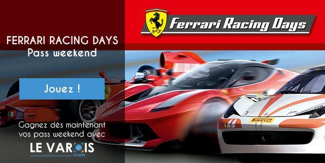 Ferrari Racing Days au Castellet