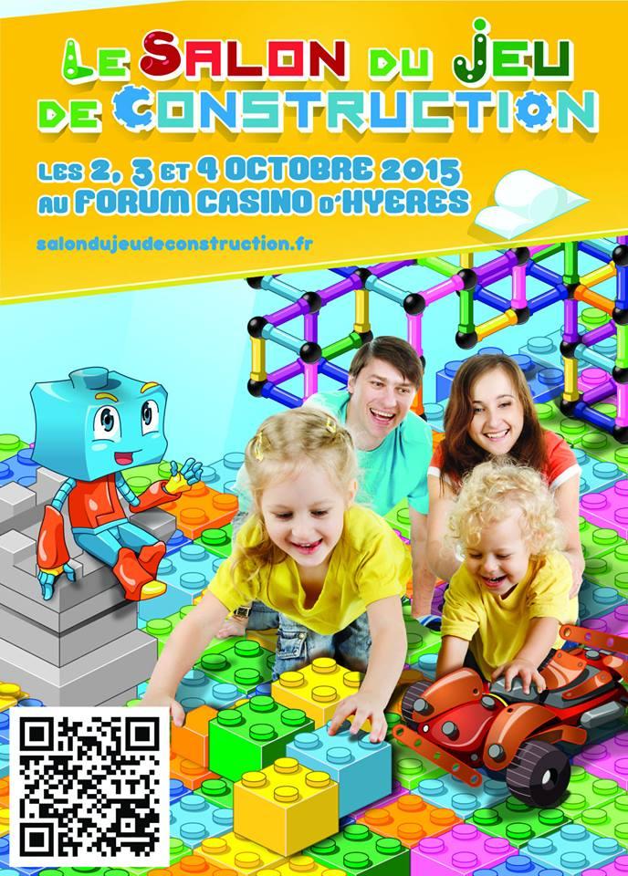 Salon du Jeu de Construction 2015 Hyères