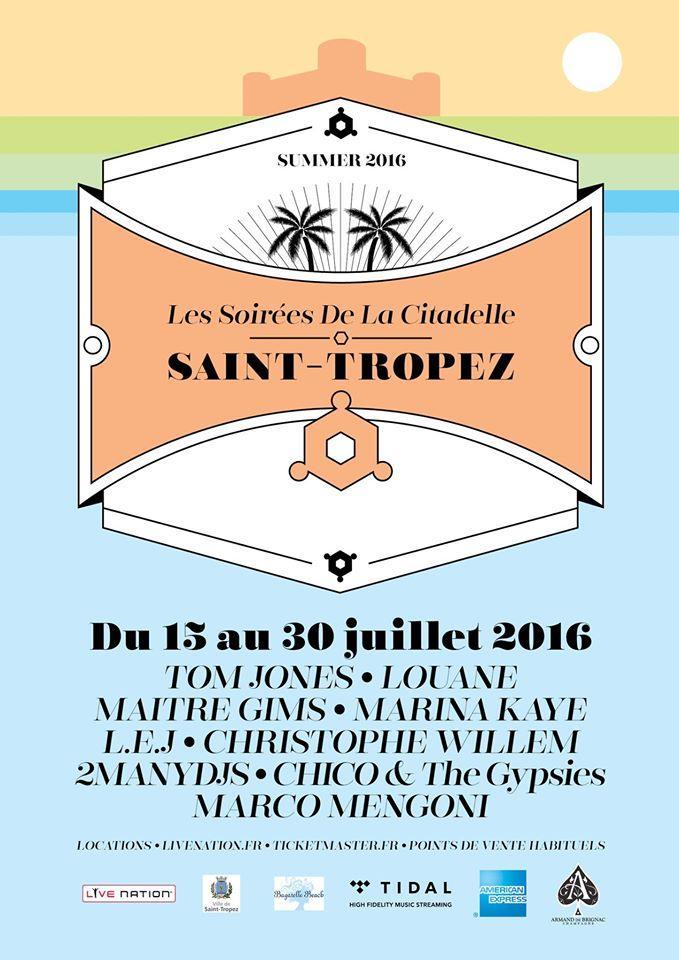 Citadelle Saint-Tropez été 2016