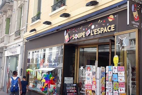 La Soupe de l'Espace Hyères librairie