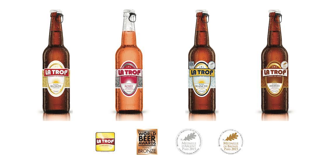 La Trop' bière locale