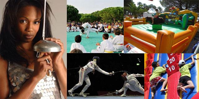 Sports en lumière à Bormes-les-Mimosas