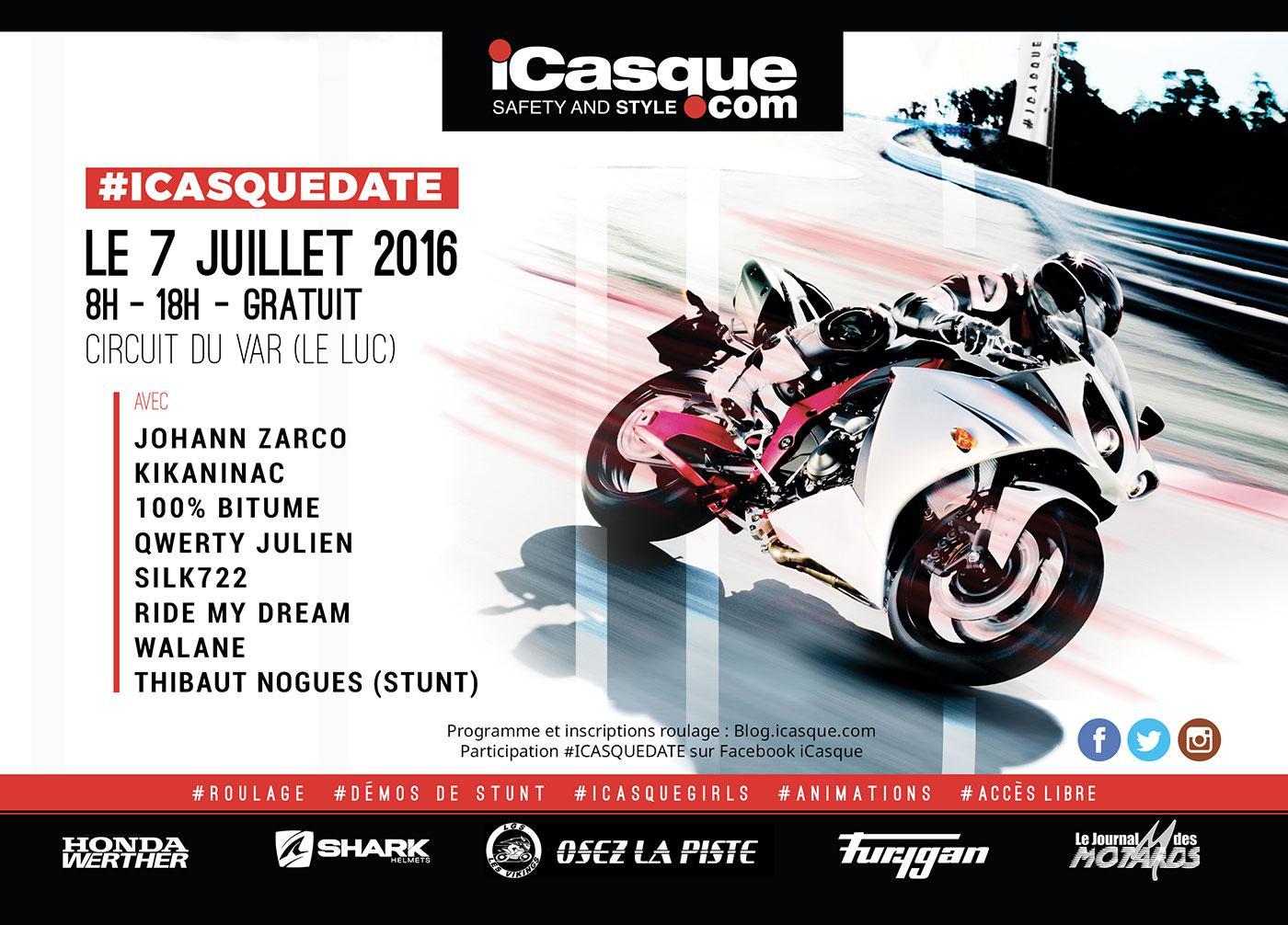Affiche iCasqueDate
