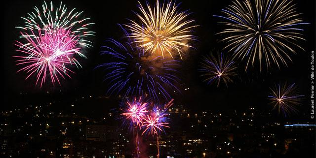 15 août 2016 à Toulon Feu d'Artifice - Droits : Laurent Perrier